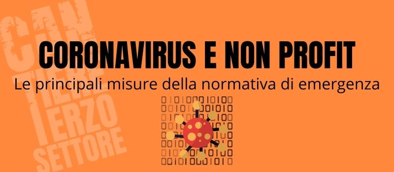 Coronavirus e non profit